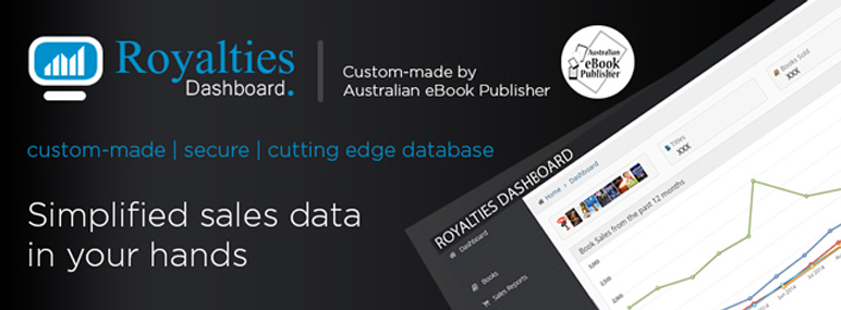 Australian eBook Publisher Royalties Dashboard